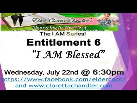 I AM Series, Entitlement 6 -
