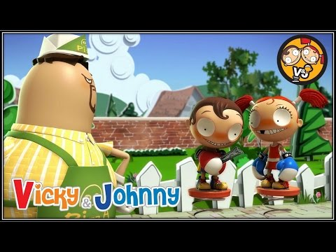Vicky & Johnny | Episode 13 | FLIP A COIN | Full Episode for Kids | 2 MIN