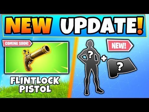 Fortnite FLINTLOCK PISTOL DETAILS + New Laguna Skin! - 5 Update Things in Battle Royale! thumbnail