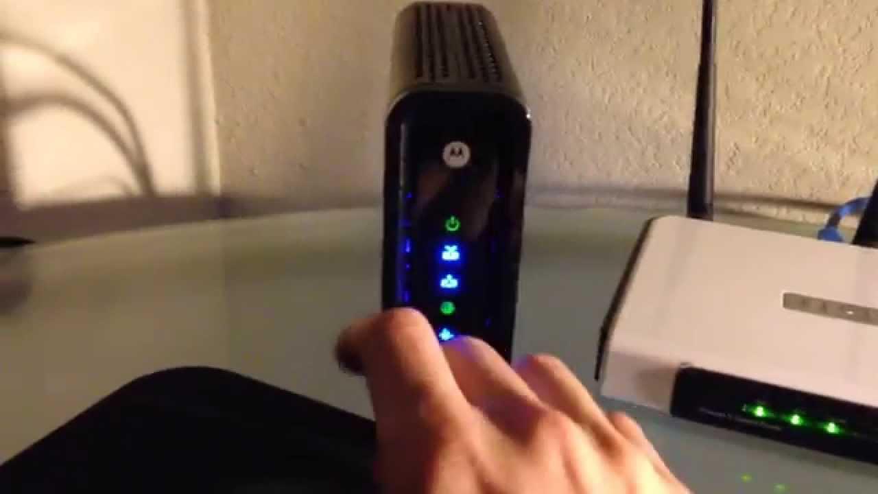 Motorola Surfboard Sb6121 Youtube