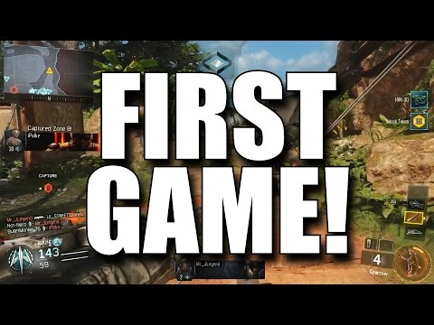 Black Ops 3 First Impressions and First Gameplay! (COD BO3 Multiplayer Gameplay)