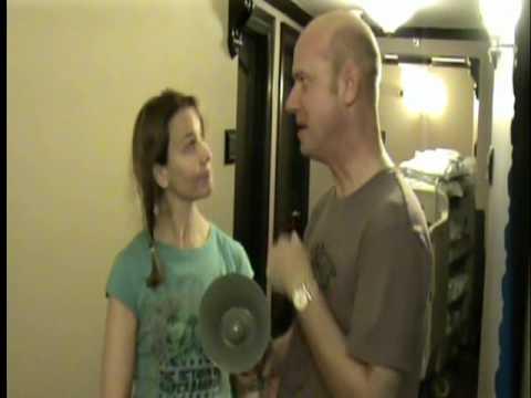 Actress MOLLY HAGAN Gets A Zap With The Gaydar Gun!