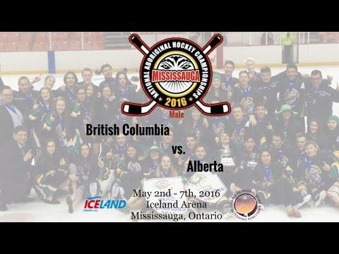 2016 NAHC - British Columbia vs. Alberta (Male)