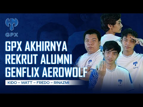UPTREND#35 - GPX AKHIRNYA REKRUT ALUMNI GENFLIX AEROWOLF MPL S7! KIDO, WATT, FREDO & RINAZMI!