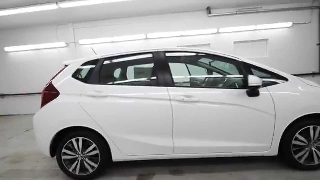 2015 Honda Fit Ex White Fm718989 Seattle Renton