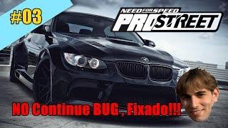 Need for Speed Pro Street - No Continue BUG fixado!!(Temporáriamente) #3
