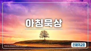 190810 아침묵상 앱 512 은혜의교회 강북구 번동