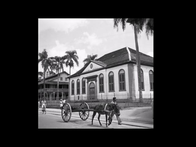 Suriname in foto's - jaren vijftig (1/2)