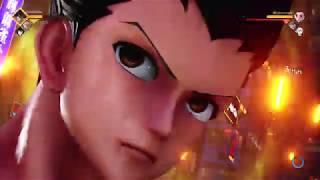 Team Hunter X Naruto Online Gameplay! Jump Force Online Closed Beta
