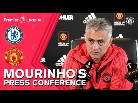 """Mourinho's Press Conference 