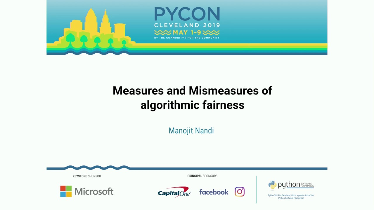 Image from Measures and Mismeasures of algorithmic fairness