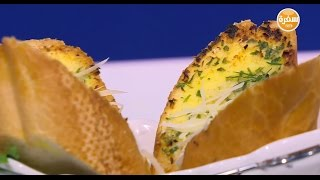 خبز بالثوم والبقدونس  | هشام السيد