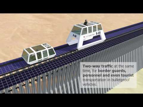 USA–Mexico Border Wall Project