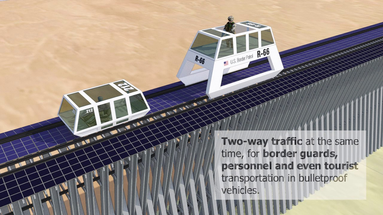 USAMexico Border Wall Project - YouTube