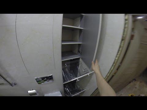 Шкаф для ванной на заказ