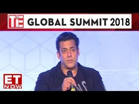 Salman Khan At Global Business Summit 2018