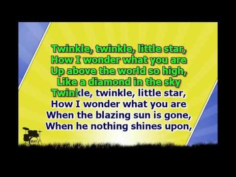 Karaoke for kids   Twinkle twinkle little stars (upbeat 48%)
