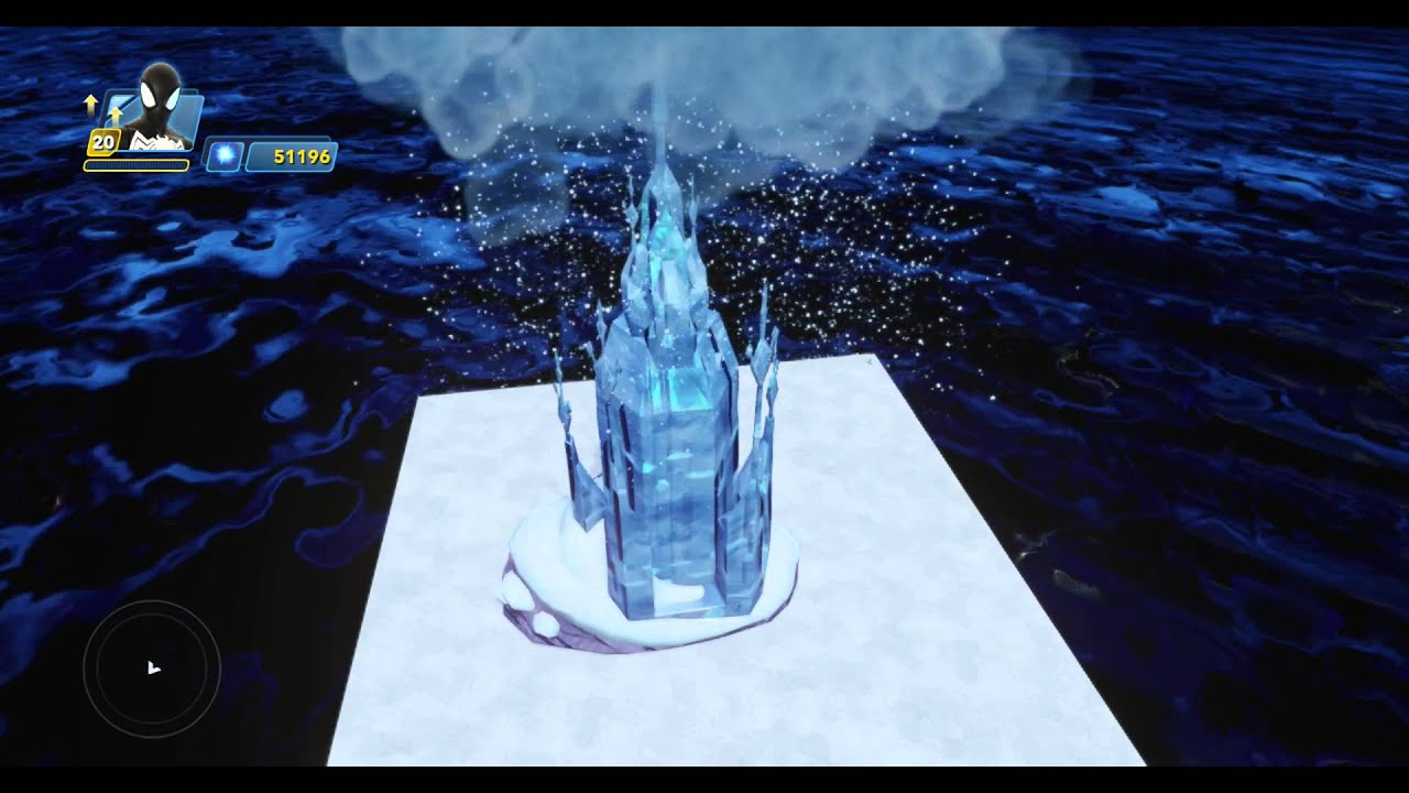 Elsa Ice Palace Set Piece Unlock Nightmare Before Christmas Town ...