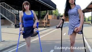 Girls On Beach Crutching Clip preview clip