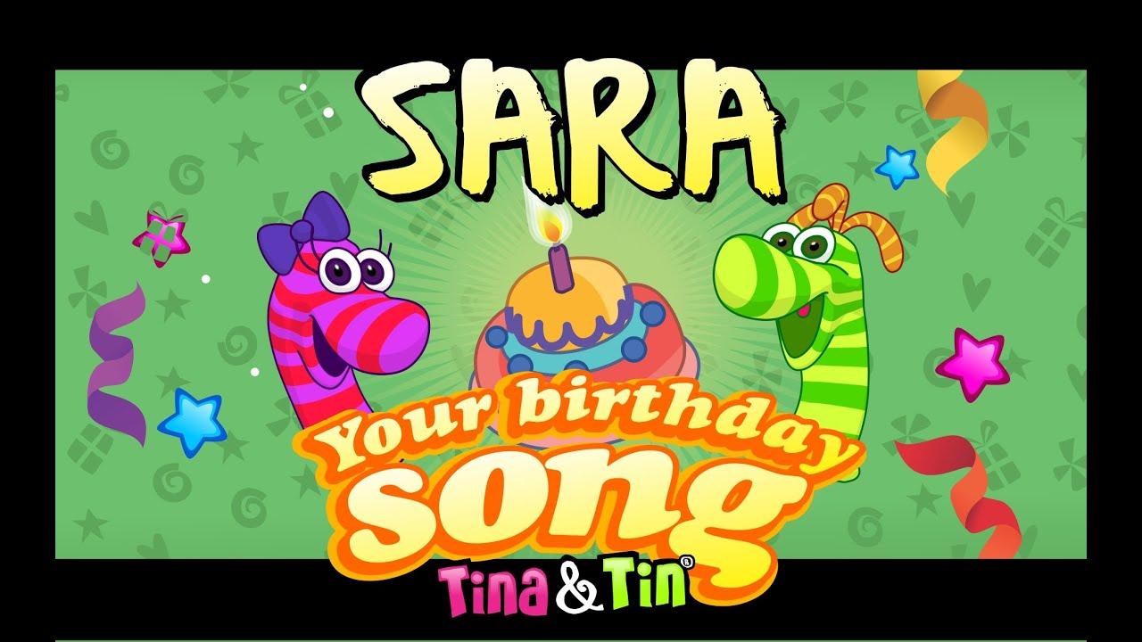 Tina&Tin Happy Birthday SARA