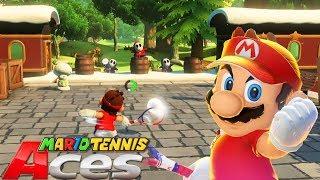 Una Aventura IMPRESIONANTE!! - MARIO TENNIS ACES: MODO AVENTURA   Nintendo SWITCH - ZetaSSJ