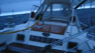 """Pleiades"" Swan 41 - Circumnav 2010 Reaching toward Dawn.avi"