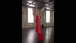 Pole dance / trick Art loft / Полденс / пілон /  пластика / трюки / упражнения для похудения / Киев