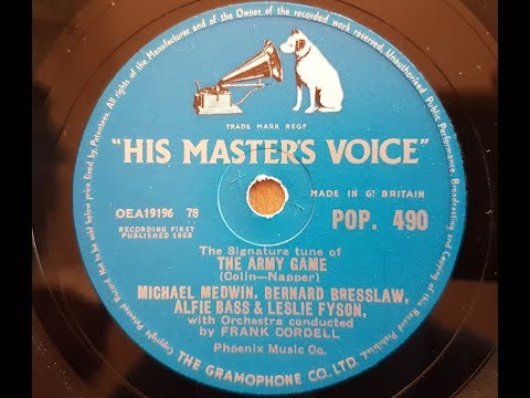 Michael Medwin, Bernard Bresslaw, Alfie Bass & Lesley Fyson 'The Army Game' 1958 78 rpm