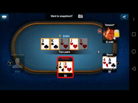 Texas Holdem Poker Pro - Mobile Game - Gameplay - Poker App - Android - iPhone