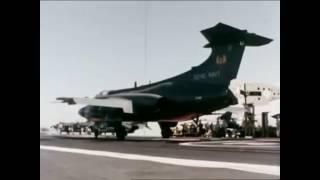 HMS Ark Royal 1975 Opération_Buccanneer S2 / F-4 Phamtom II