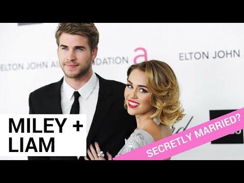 Did Miley Cyrus & Liam Hemsworth Secretly Get Married?