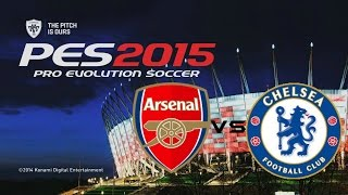 PES 2015 Gameplay (PC): Arsenal Vs Chelsea