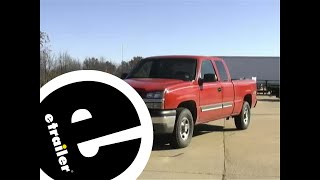 Trailer Hitch Installation - 2003 Chevrolet Silverado 1500 - etrailer.com