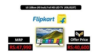 LG 108cm (43 inch) Full HD LED TV (43LJ523T)