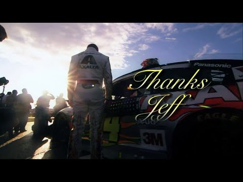 Jeff Gordon Edits' Monumental Compliation: Every 2015 Tribute Made in Honor of Jeff Gordon