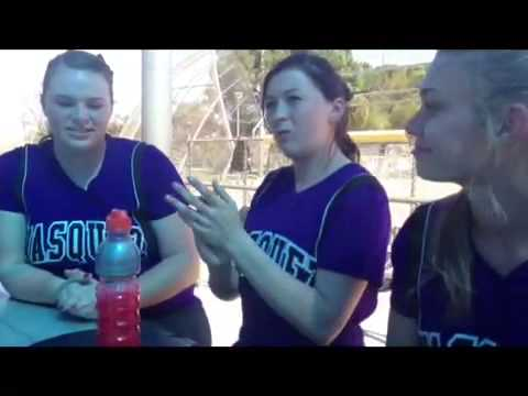 The cup song softball style