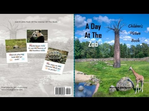 Createspace Publishing: A Day At The Zoo🐒 | Children's Picture Book | Book Reading