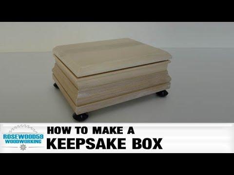 How To Make A Keepsake Box