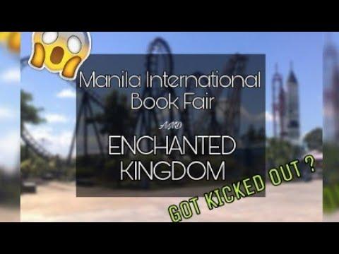 Manila International Book Fair & Enchanted Kingdom | GOT KICKED OUT??