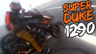 SNEAKY SUPERDUKE 1290 ALMOST BEAT ME!!
