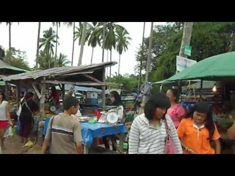 Food Shopping at the Saturday Afternoon Market in Ao Nang, Krabi, Thailand