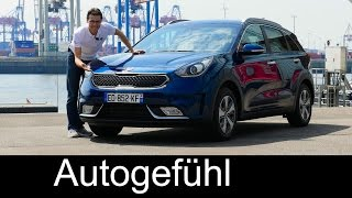 Kia Niro FULL REVIEW test driven all-new Hybrid crossover neu 2017 - Autogefühl