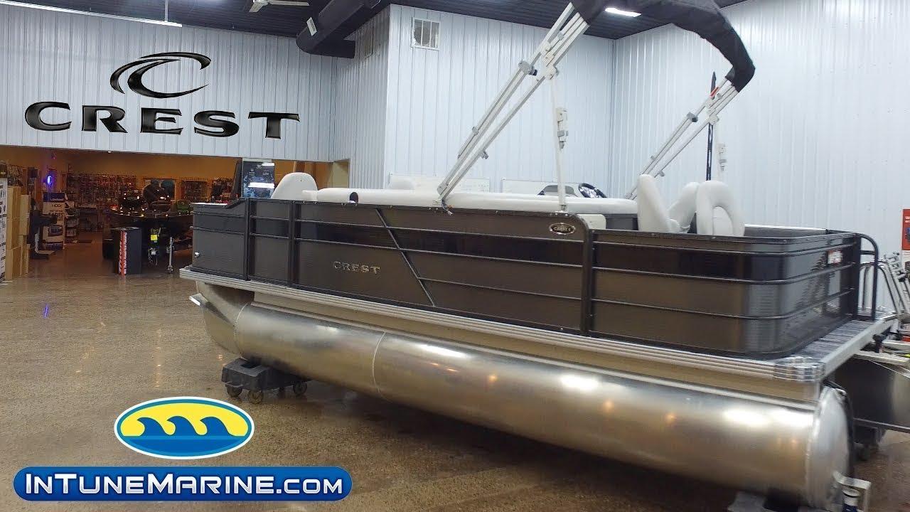2019 Crest Pontoon 1 FISH 200C4 - In Tune Marine