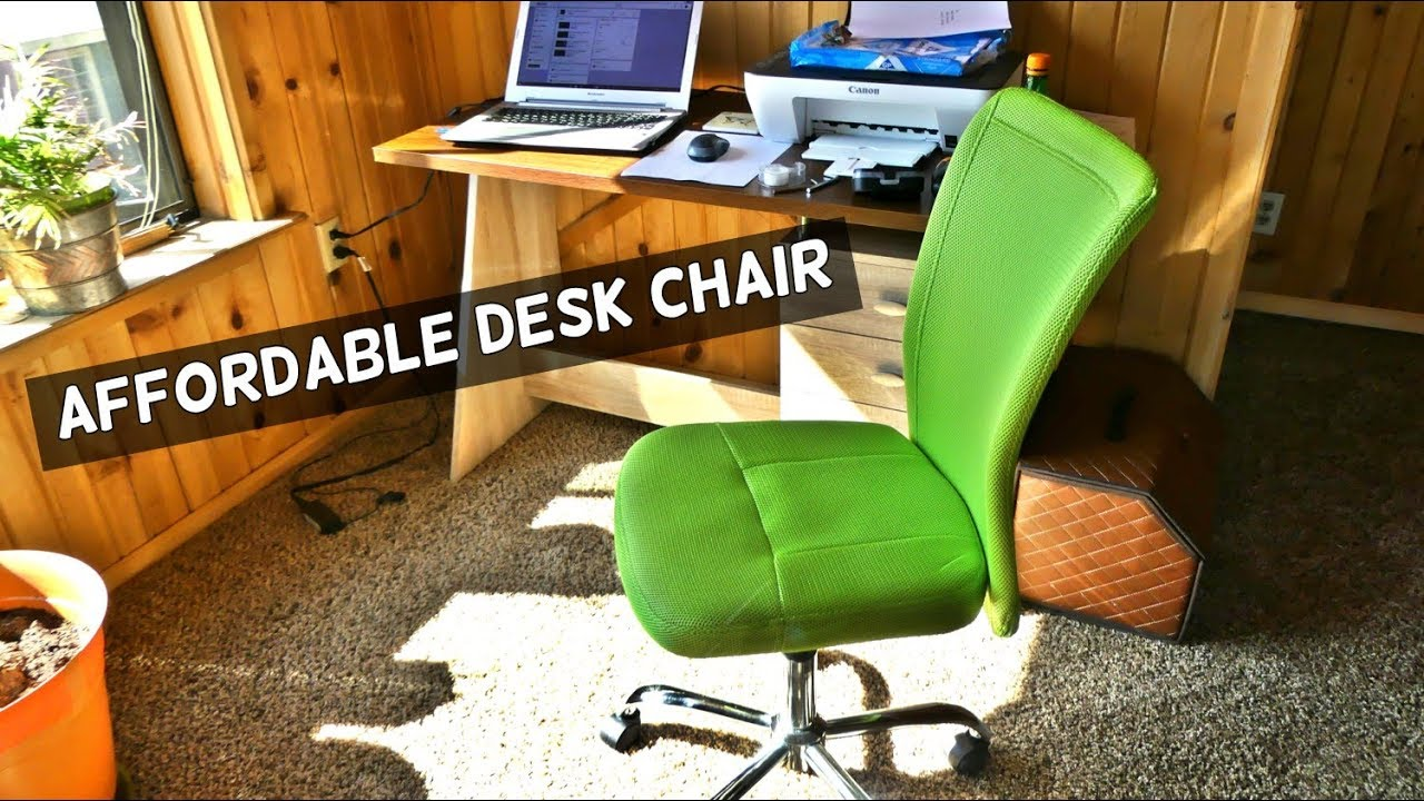 desk chair youtube wholesale linens and covers mainstays product review