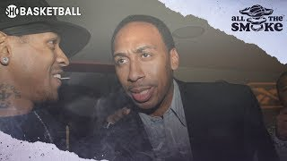 Stephen A. Smith: 'Allen Iverson Is A Big Reason For My Success' | ALL THE SMOKE
