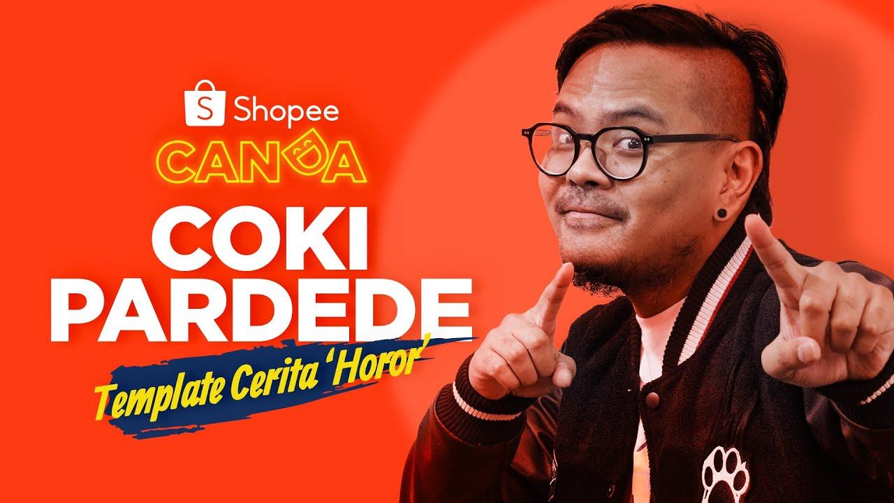 Stand up Comedy - Coki Pardede: Template Cerita 'Horor' Netizen | Shopee Canda