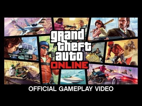 grand-theft-auto-online:-official-gameplay-video