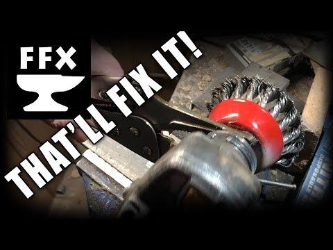 How To Fix A Stuck Angle Grinder (FAIL!)