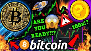 BITCOIN RARE SIGNAL FLASHES BUY!!!! ? BEWARE THIS TRICK!!! NEXT 100x ALTCOIN?