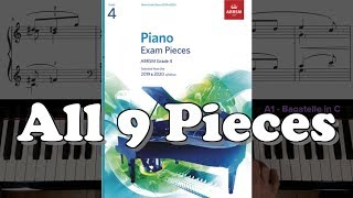 Gambar cover ABRSM Grade 4 Piano (2019 & 2020): All 9 Pieces